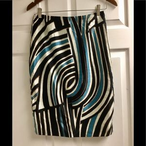 Rachel Roy silk blend skirt size 2